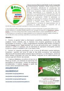 presentazione associazione VOLANTINO