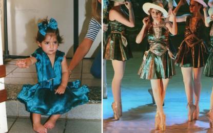 Ana Carolina, nata con piede torto e con una sola grande passione: la danza