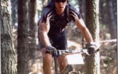 Grant Watson, nato con piede torto e campione di mountain bike.