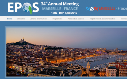 EPOS 2015, 34th Annual Meeting of the European Paediatric Orthopaedic Society, France, Marseille, 15 – 18 April 2015.