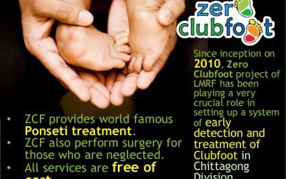 """LMRF – Grandi risultati in Bangladesh per la cura del piede torto """"neglected"""""""