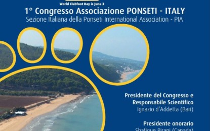 1° Congresso Ponseti Italy