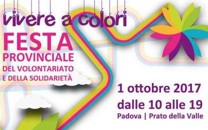 Festa provinciale del volontariato a Padova